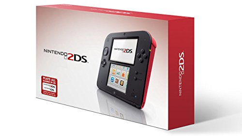 (Nintendo 2DS Red Console with Yoshi's New Island Game)