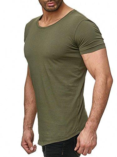 8879734875b1cc Redbridge Herren T-Shirt Golden Silver Boy Oversized Longshirt  Freizeitshirt Longtee: Amazon.de: Bekleidung
