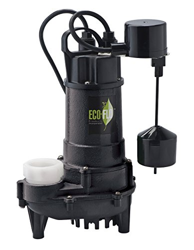 ECO-FLO Products ECD75V Products ECD75V 34-Inch HP Submersible Sump Pump