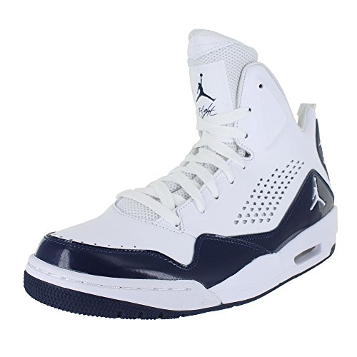 Jordan Mens SC-3 White Midnight Navy Size 8 by Jordan