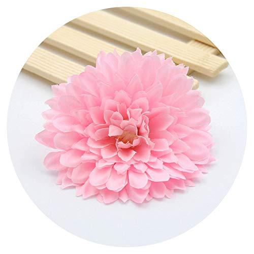 10Pcs Gerbera Silk Flower Sunflower Flower Heads Bouquet Petal Daisy Wreath Rose Wedding Flowers Decorate Materials -