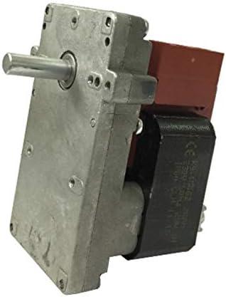 Easyricambi - Motor para Estufa de pellets Kenta K9115005, 1,5 RPM, Eje de 8,5 mm, Motor para Carga de pellets