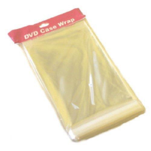 Dragon Trading® 100 fundas resistentes de 25 micras para estuche DVD de 14mm