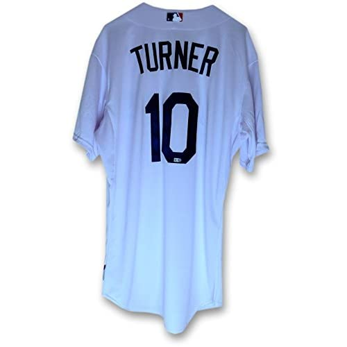 reputable site 45d91 13899 delicate Justin Turner Team Issue Jersey LA Dodgers Home ...