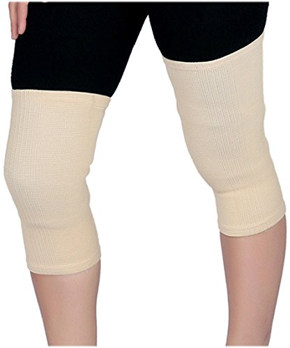 92da3e5d25 Buy GNR Pharma Elastic Tubular Knee Support Deluxe - Small (Beige) Online  at Low Prices in India - Amazon.in