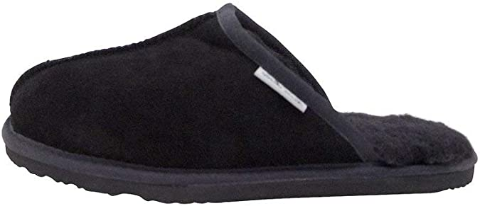 Mens Classic Australian Merino Shearling-Lined Scuff Slippers