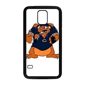 Samsung Galaxy s5 Black Cell Phone Case Chicago Bears NFL Phone Case Cover Design Plastic NLYSJHA0214 by kobestar