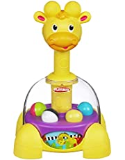 PLAYSKOOL Giraffalaf Tumble Top - Spinning & Popping Play Activity - Baby & Toddler Toys - Ages 1+