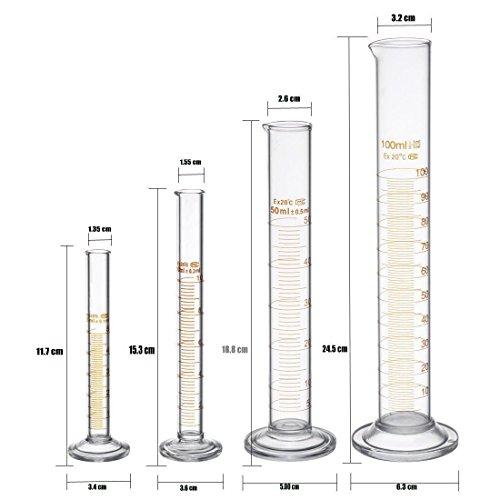 100ml Glas Mit Zwei Bürsten