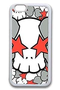 Cool Skull 12 Slim Soft For HTC One M9 Case Cover Case Hard shell White Cases