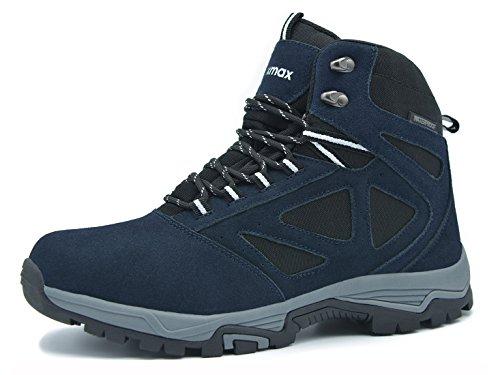 Knixmax Women's Waterproof High Rise Hiking Boots Lightweight Trekking...