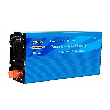 Inversor-cargador 600W - 12V: Amazon.es: Bricolaje y ...