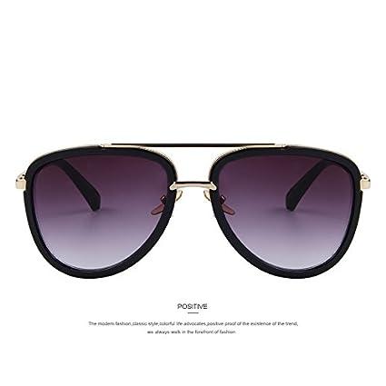 TIANLIANG04 - Gafas de Sol clásicas para Hombre, Doble ...