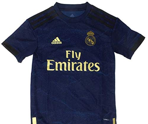 adidas Kid's Real Madrid Away Jersey 2019-20 (X-Large) Night Indigo