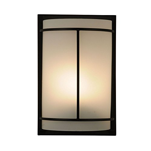 ADA Approved Single-Light Sconce with Metal Banded (Ada Contemporary Sconce)