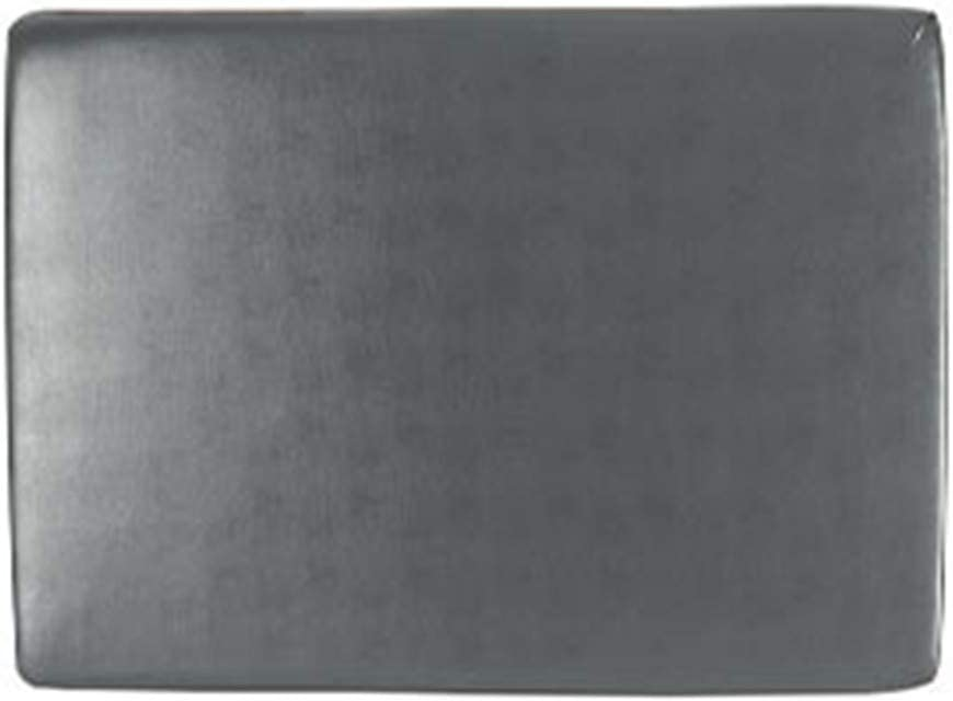 YMOMG Estiramiento De La PU De Cuero del Sofá Fundas De Colchón Amortiguador del Sofá Impermeable (Gris,4 Asientos)