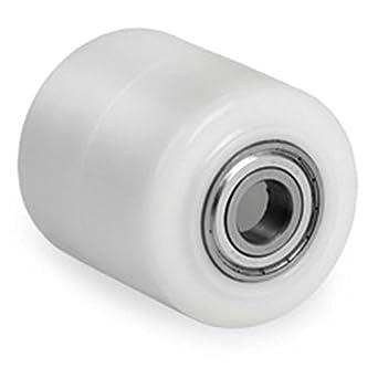 Poliamida/nailon Transpaleta rollo 82 x 60 mm, con rodamiento orificio 20: Amazon.es: Industria, empresas y ciencia