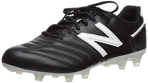 - New Balance Men's 442 Team V1 Classic Soccer Shoe, Black/White, 12 2E US