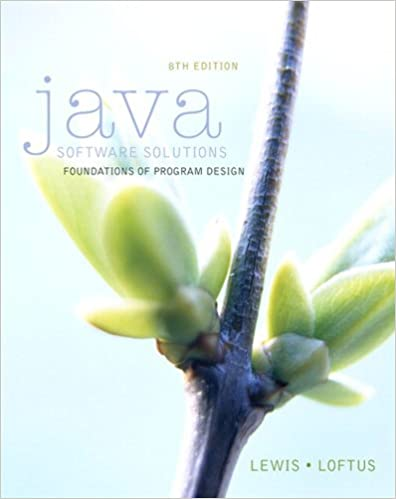 Amazon java software solutions foundations of program design amazon java software solutions foundations of program design ebook john lewis william loftus kindle store fandeluxe Images
