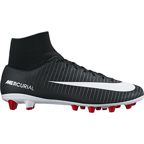 Nike Mercurial Victory Vi Df Agpro, Zapatillas de Fútbol para Hombre Negro