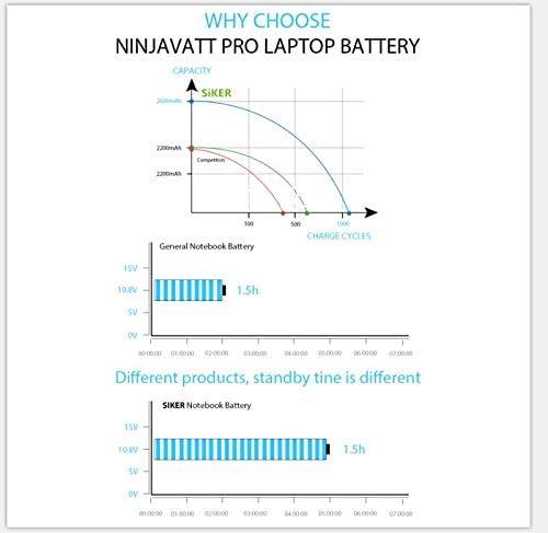 SIKER KI04 Laptop Akku f/ür HP Pavilion 14-ab000 Serie HP Pavilion 15-ab000 Serie HP Pavilion 17-g000 Serie DB6T 800049-001 TPN-Q158 Q159 Q160 Q161 Q162 HP HSTNN-LB6S