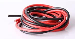 12 Gauge Silicone Wire 10 Feet - 12 AWG Silicone Wire - Flexible Silicone Wire