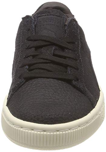whisper puma Puma Sneakers Suede Shearling Adulte Classic Black White 01 Mixte Noir Basses vT8gv