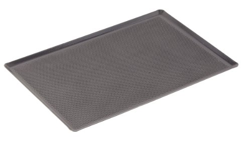 Paderno World Cuisine 23 5/8 by 15 3/4 Inch Perforated Silicone Coated Baking Sheet ()