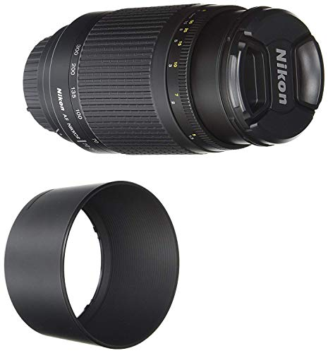 Nikon 70-300 mm f/4-5.6G Zoom Lens with Auto Focus for Nikon DSLR Cameras (Renewed) (Nikon Cameras D3200)
