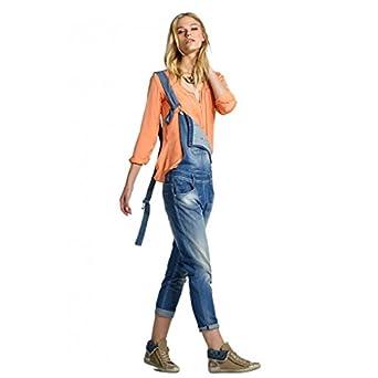 sélection premium grande sélection styles de mode Salopette en jean Salsa Kim Bleu Couleur Bleu Taille XL ...