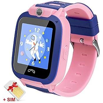 Amazon.com: Kids Smartwatch with SIM Card Included,Two-Way ...