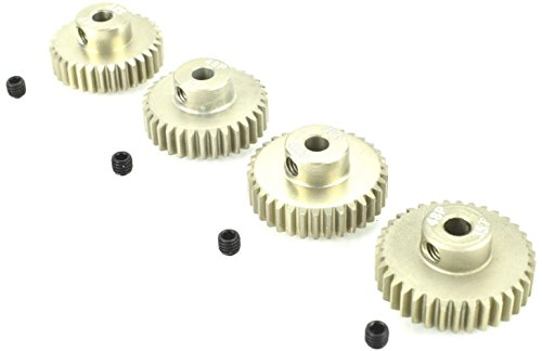 Apex RC Products 48 Pitch 32T 33T 34T 35T Aluminum Pinion Gear Set ()