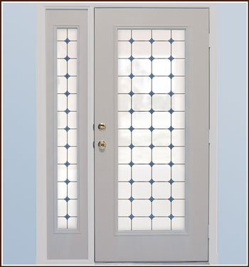 Monterey Bay Stained Glass Privacy Window Film ()