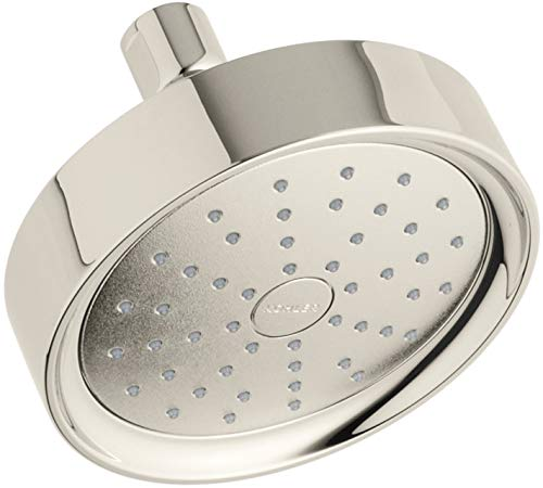 Kohler K-939 Purist 2.0 GPM Single Function Shower Head with Katalyst Air-induct, Vibrant Polished -