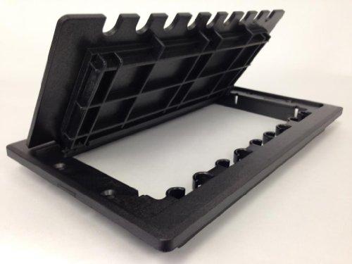 7 X 10 Hinged Access Door Grommet-Black Access Grommets