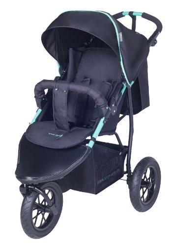 knorr-baby 883001 EVA-Rad- Joggy S schwarz-grün