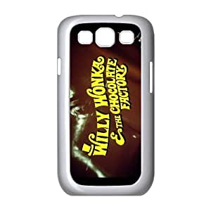 Wonka Chocolates Bar Ticket Pattern Productive Back Phone Case For Samsung Galaxy S3 -Style-14