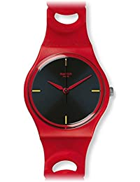 APPLETINI GR164 RED SILICONE STRAP WOMENS WATCH