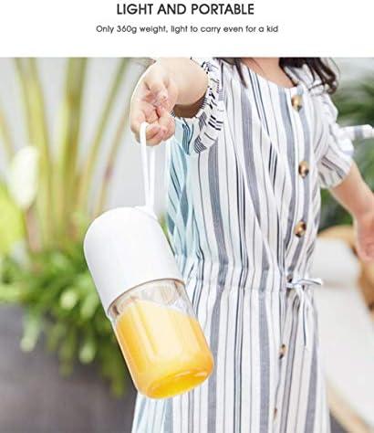 300Ml Moda Portatile Spremiagrumi Elettrico Facile da Pulire Multifunzionale Di Sicurezza Piccolo Usb Muto Ricaricabile Succo Tazza Di Taglio Mixer Adatto per Viaggi, Ibuprofen