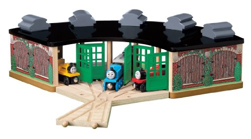(Learning Curve Thomas and Friends Wooden Railway - Roundhouse Pack)