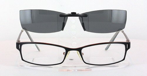 b006dbbe27 Amazon.com  PERRY ELLIS PE233A-1-53X17 POLARIZED CLIP-ON SUNGLASSES (Frame  NOT Included)  Health   Personal Care