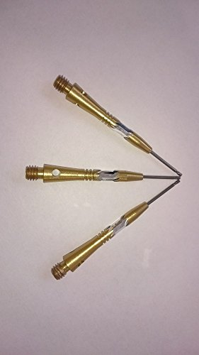 1 x SET DYNASTAR ALUMINIUM DART STEMS ADXL 75 GOLD SHAFTS ()