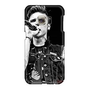 High Quality Mobile Case For Samsung Galaxy S6 With Unique Design High-definition Black Veil Brides Band BVB Pattern SherriFakhry