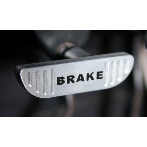 MUSTANG SCOTT DRAKE PARKING BRAKE HANDLE BILLET (Mustang Billet E-brake Handle)
