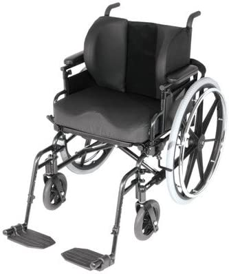 "B00H2LWJ8Q Lateral Support Wheelchair Cushion Size: 4"" 41-GDdX25DL."