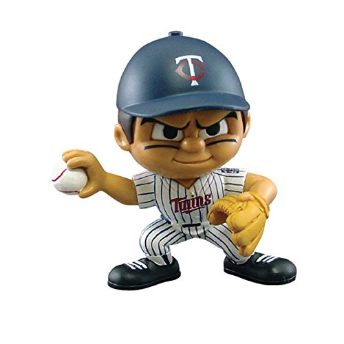 Party Animal Toys Lil' Teammates Minnesota Twins Pitcher MLB Figurines -