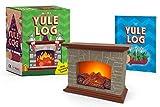 Mini Yule Log: With crackling