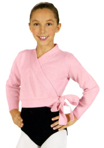 Child Wrap Sweater,72523CPNKS,Pink,Small