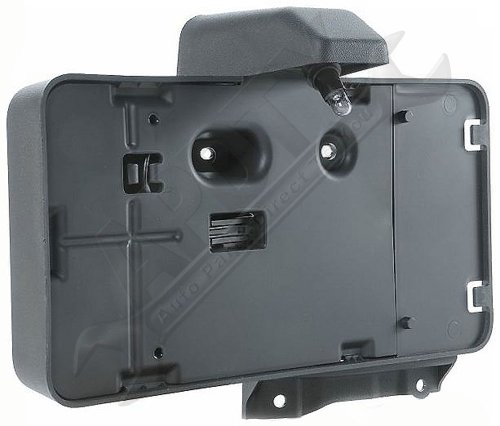 APDTY 68064720AA License Plate Bracket Plastic Holder Assembly With Light Lamp Fits (Mounted License Plate Bracket)