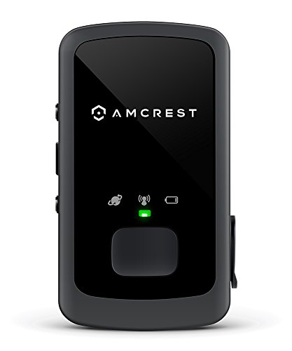 Amcrest AM GL300 V2 Portable Mini Real Time GPS Tracker Unlimited Text Message / Email Alerts, Geo Fencing, 7 10 Day Battery, No Contracts, Upgraded GSM